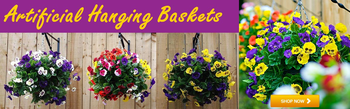 Artificial Hanging Baskets