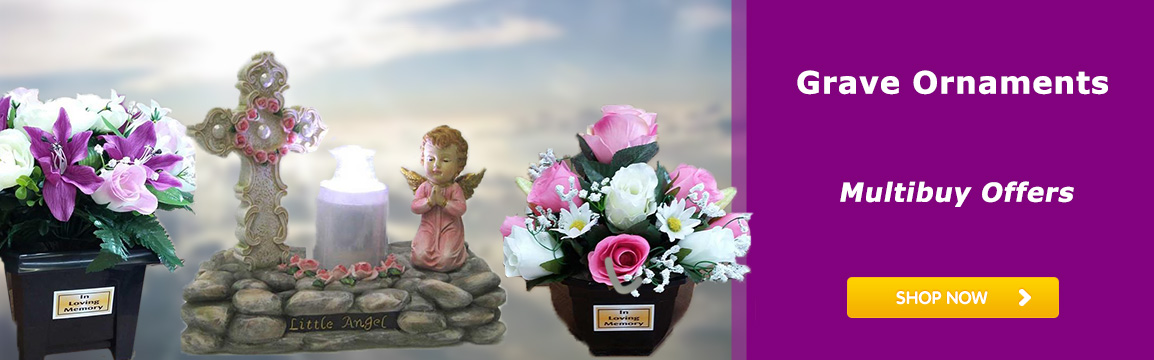 Special Offers on Grave Ornaments