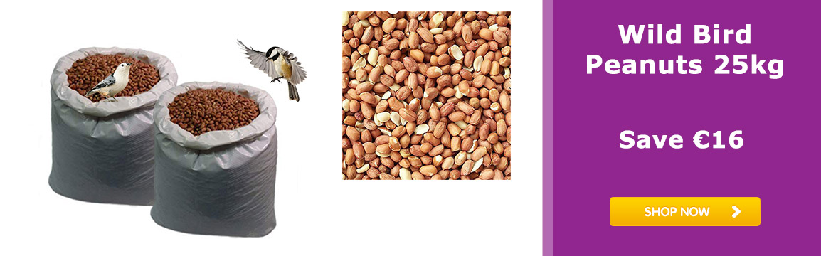 WILD BIRD PEANUT SPECIAL 25KG Save €16!