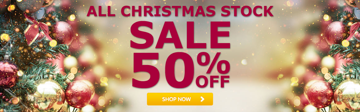 Horkans 50% Sale on Christmas Stock