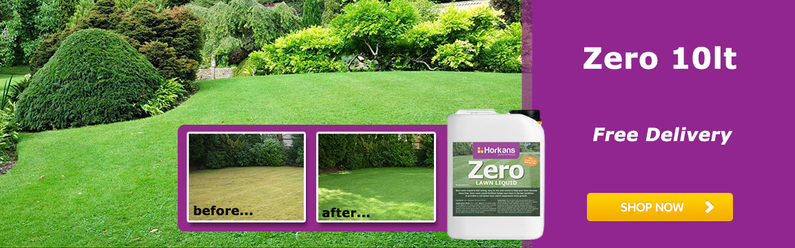 Zero Moss Remover Lawn Liquid and Feed