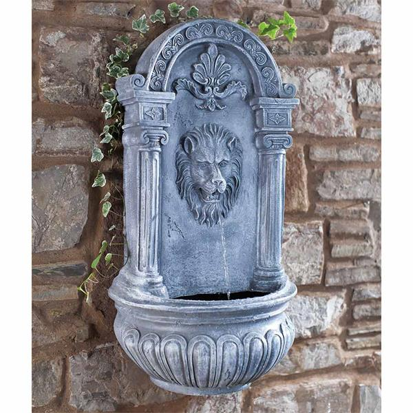 Blagdon Liberty Lion Wall Mounted Water Feature | Horkans Garden Centre