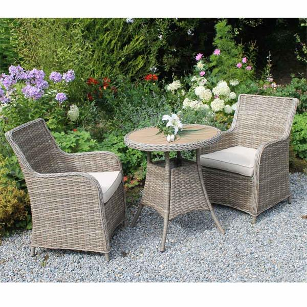 Awesome Culcita Rattan Bistro Set Horkans Garden Centre Download Free Architecture Designs Remcamadebymaigaardcom