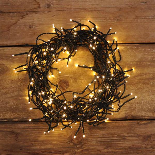 led twinkle christmas lights greenwarm white